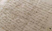 A Sailor's letter describing the battle of Trafalgar