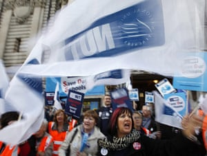 cuts protest in london: Union member demonstrating against budget cuts