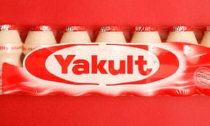 Yakult probiotic drinks
