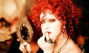 Cyndi Lauper … 'People have the blues. They're hurting'.