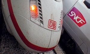 DB high speed ICE train