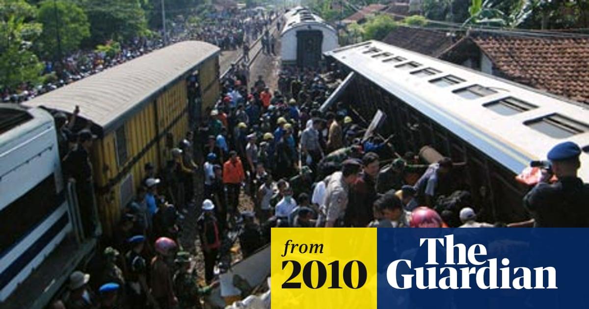 Indonesian train crash kills dozens | Indonesia | The Guardian