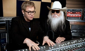 Elton John and Leon Russell