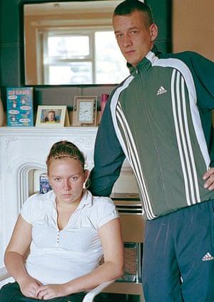 Natalie Taylor with partner Ashley