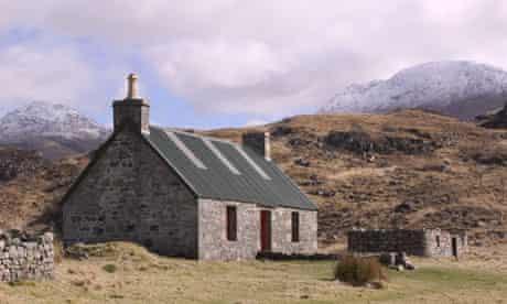 Peanmeanach Bothy nr Mallaig Scotland