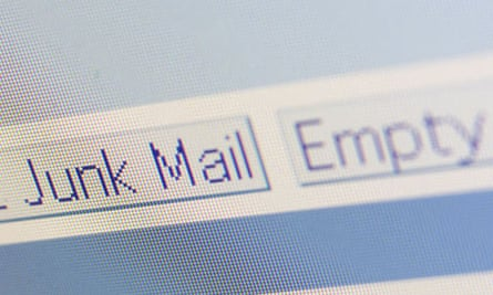 Junk email screen