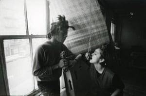 Madonna 80s: Madonna with Jean-Michel Basquiat