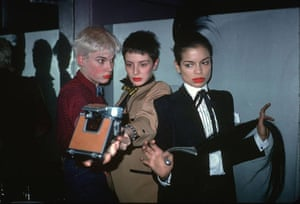 Madonna 80s: Party girls and Bianca Jagger