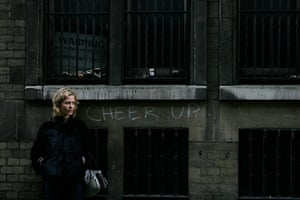 In pictures: moody: message on wall