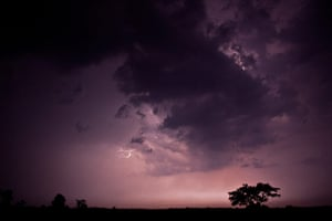 In pictures: moody: electrical storm in southern India