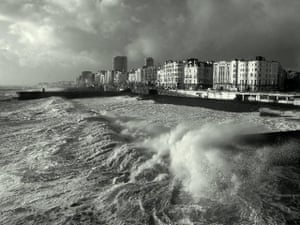 In pictures: moody: storm on Brighton beach