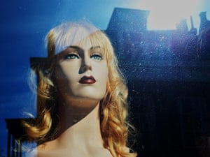 In pictures: moody: wig shop window