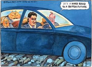 21.10.2010 Steve Bell cartoon