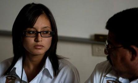 Twenty year old criminology student, Mar