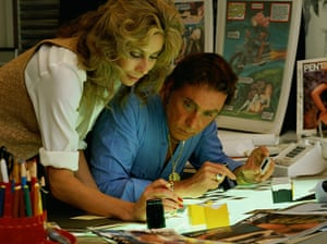 Bob Guccione Dies: Bob Guccione with his wife Kathy Keeton