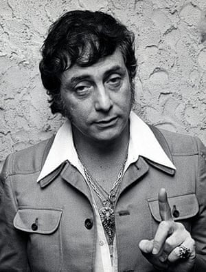 "Bob Guccione Dies: Bob Guccione at Party for ""Viva"" Magazine"