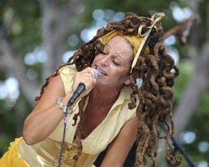 Ari Up of The Slits: Ari Up (lead singer of the British punk rock band The Slits)