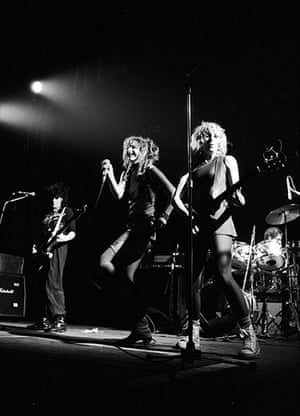 Ari Up of The Slits: Punk group The Slits performing at the Manchester Apollo