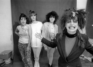 Ari Up of The Slits: The Slits -  Palmolive, Viv Albertine, Tessa Pollitt and Ari Up, 1988