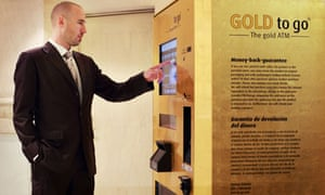 Gold Bullion Coming Soon To A Vending Machine Near You