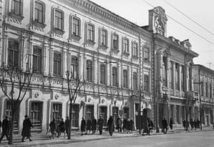 Samara Architecture: The former Samara public library that was visited by Vladimir Ulyanov Lenin
