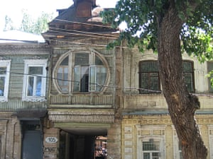 Samara Architecture: Decorated wooden houses that are still to be found in the centre of Samara