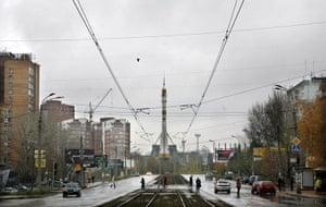 Samara Architecture: A Soyuz Space Rocket in the centre of Samara