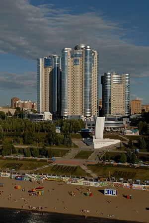 Samara Architecture: An aerial view of Ladya residential district