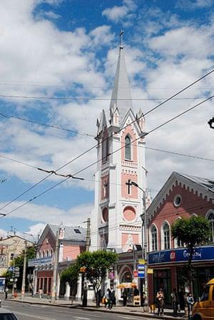 Samara Architecture: St George's Lutheran Church in Samara