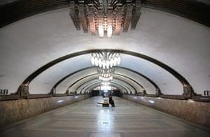Samara Architecture: An underground station in Samara