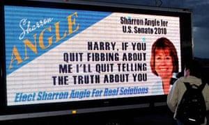 Sharron Angle billboard