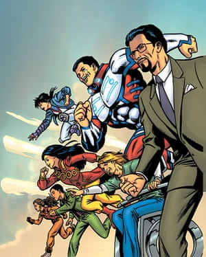 Islamic Superheroes: The 99 Team