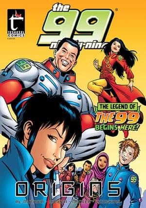 Islamic Superheroes: The 99 Origins Comic