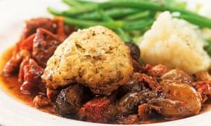 Beef casserole dumpling