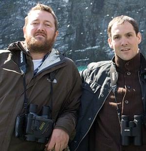 10 best birdwatchers: Guy Garvey & Martin Noble