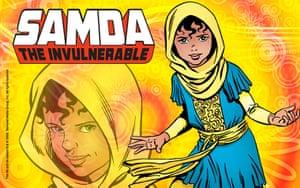 Islamic Superheroes: Samda The Invulnerable,  Islamic Superhero