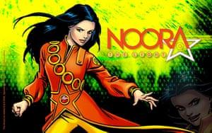 Islamic Superheroes: Noora The Light,  Islamic Superhero