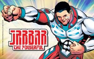 Islamic Superheroes: Jabbar The Powerful, Islamic Superhero