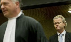 Dutch anti-Islam politician Geert Wilders in court