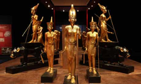 The Tutankhamun – His Tomb and His Treasures exhibition in Manchester