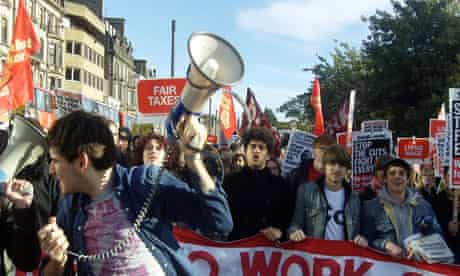 STUC rally Edinburgh