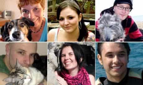 Animal rights activists from Stop Huntingdon Animal Cruelty (Shac)