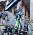 Charles II statue in Edinburgh removed for restoration