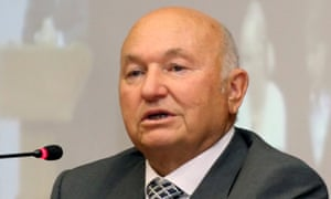 Former Moscow mayor Luzhkov