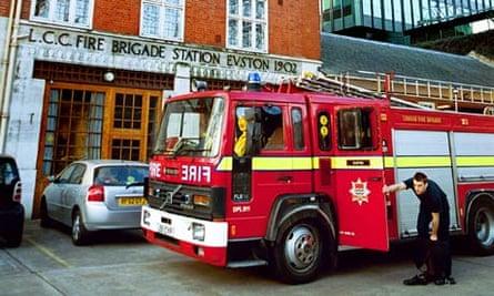 Euston Road fire station