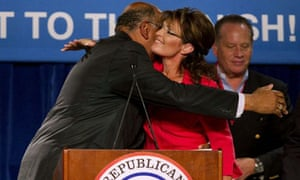 Sarah Palin and Michael Steele