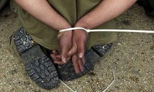 Bound detainees