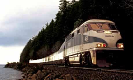 Amtrak Cascades 468 Talgo F59 passenger diesel powered electric locomotive