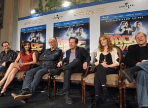 Back to the Future 25th: Huey Lewis Christopher Lloyd, Michael J. Fox, Lea Thompson, Robert Zemeckis
