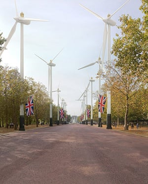 London Future images: That archetypical British driveway The Mall